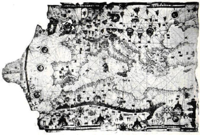 Map of Ibn Ben Zara (1487) Image Credit: Wikimedia Commons
