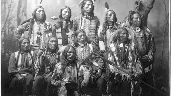 An image of the Oglala Lakota Tribe. Image Credit: Tumblr.