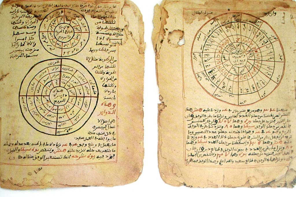 The Timbuktu Manuscripts. They consist of studies in mathematics and astronomy written in Arabic.