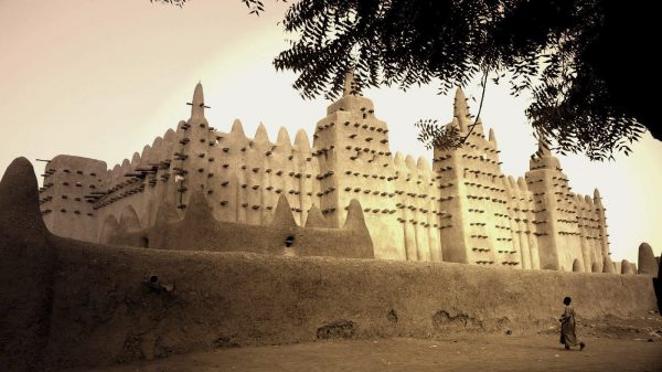 The ancient Sankore University in Timbuktu.